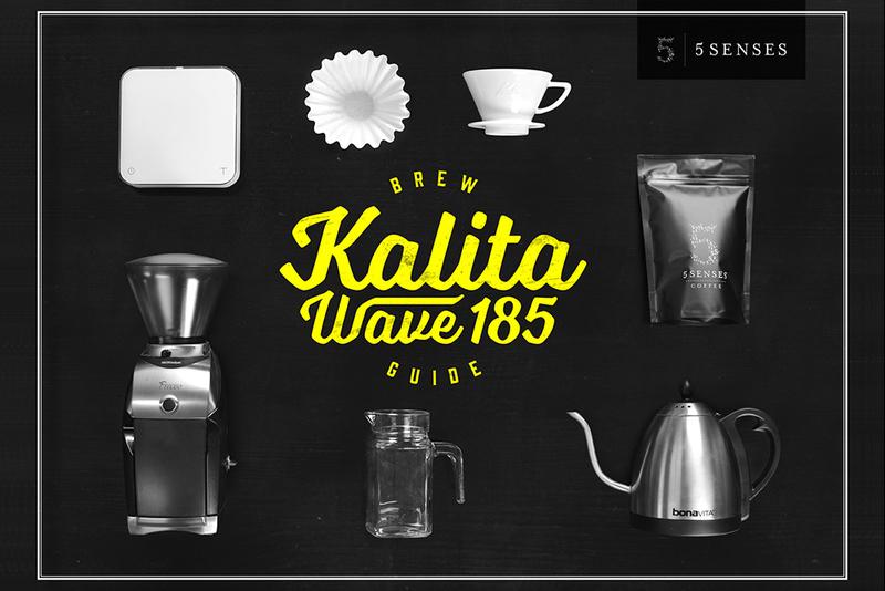 Kalita wave brew card front pic