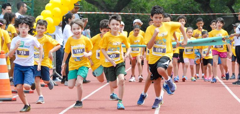 Corrida infantil deve ser atividade lúdica e não competitiva