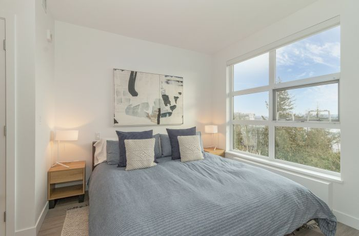 Master Bedroom with King Size Mattress