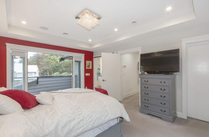 Master Bedroom with Ensuite Bathroom and Patio