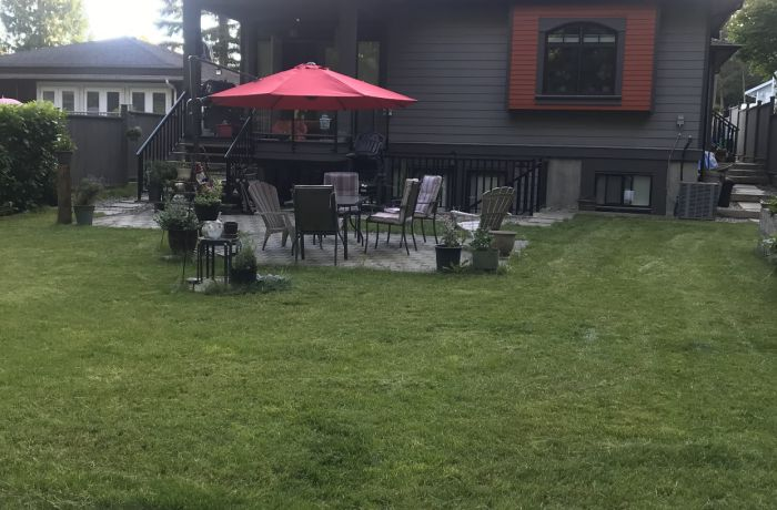 Garden Yard with Patio