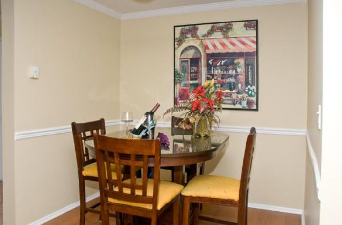 Dining Areas, Indoor and Outdoor