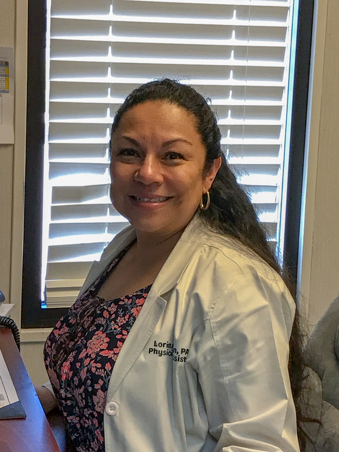 Lorina Lujan, PA-C, is now seeing patients at Van Horn Rural Health Clinic.