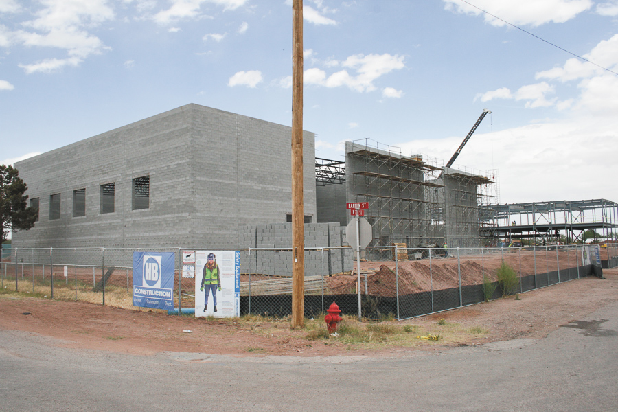 Construction of new gym and K-12 Campus -Advocate Photo