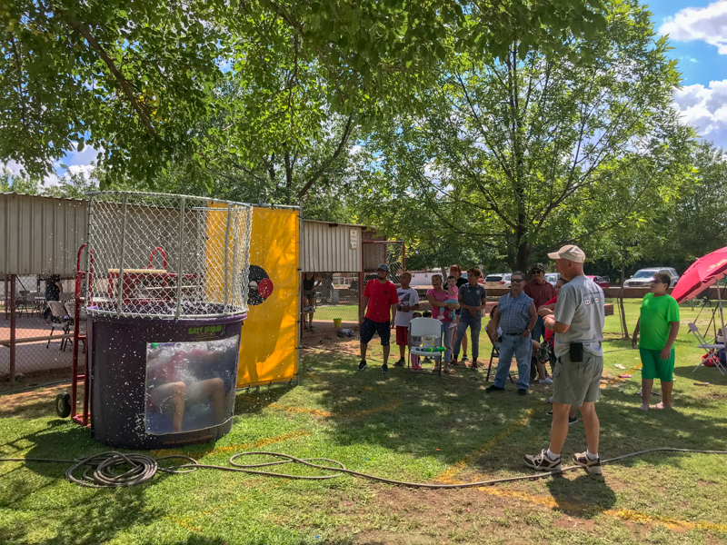 "The Van Horn Lion's Club held a ""Back to School Bash"" August 6 as a free event for the public to attend. -Photo Courtesy of Lions Club"
