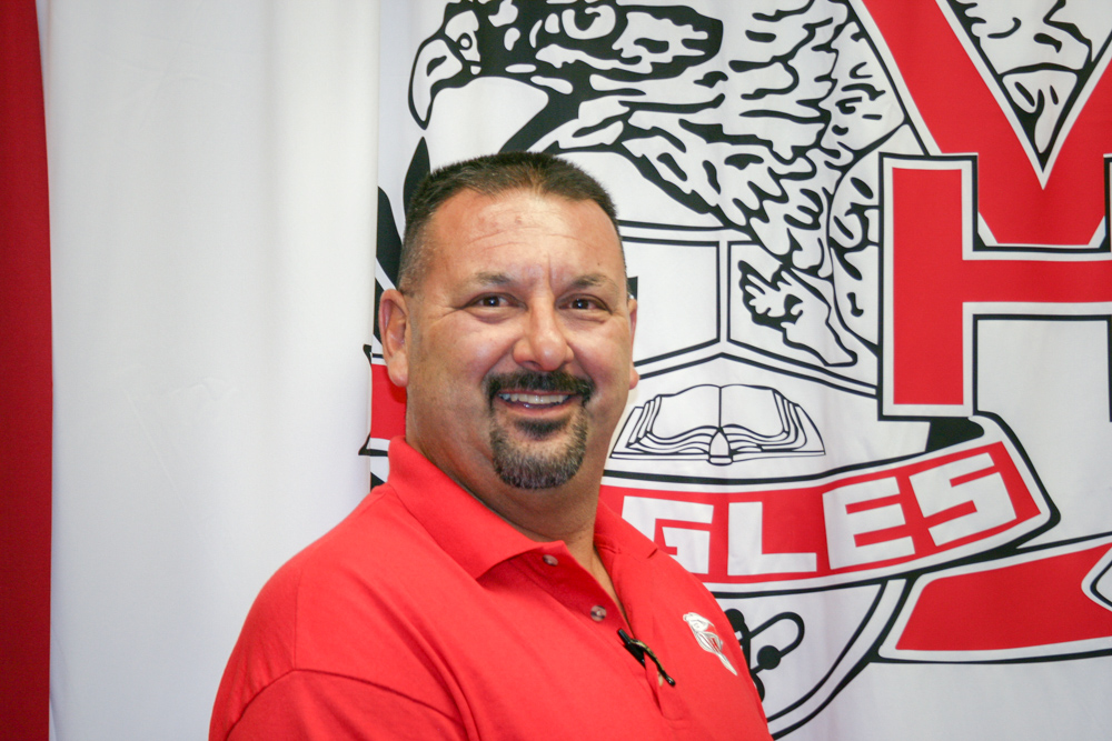 Charles Gonzales takes over this fall as the new principal at Van Horn Schools. (VHA Photo-LM)