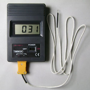 High Temperature Digital Thermometer