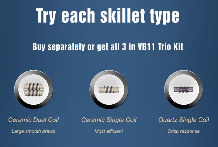 VB Eleven Pen Trio Kit with Ceramic and Quartz cores