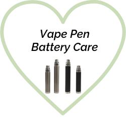 Proper Vape Pen Battery Care: 4 Easy Steps