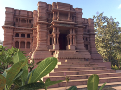 Rasa and Vrindavana's architecture and art