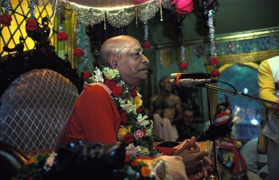 Srila Prabhupada on New Vrindavana