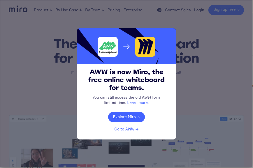 AWW joins Miro