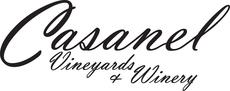 Casanel logo blk on wht