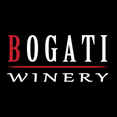 Bogati winery black background square