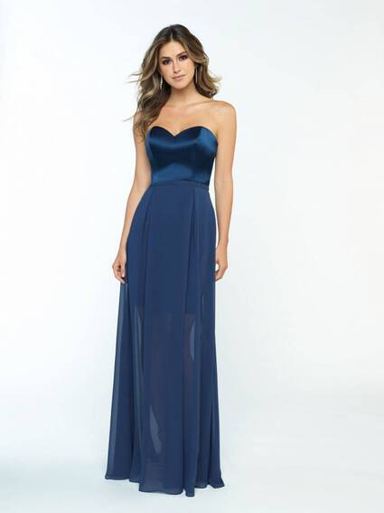 Allure Bridals Style 1671 bridesmaid dress