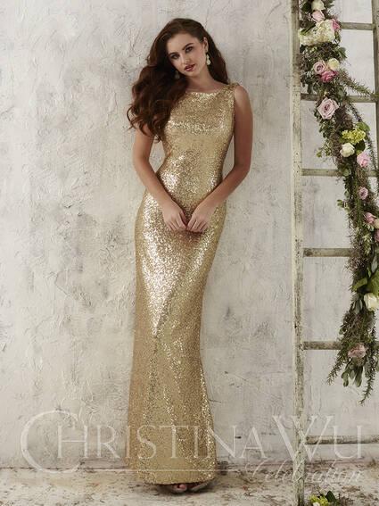 House of Wu Style 22704 bridesmaid dress