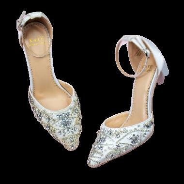 Kate Whitcomb Coco Block Heel shoe