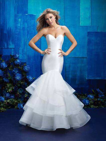 Allure Bridals Style 9416 wedding dress