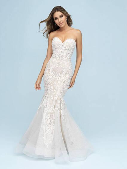 Allure Bridals Style 9601 wedding dress