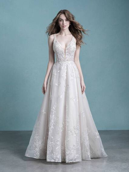 Allure Bridals Style 9758L wedding dress