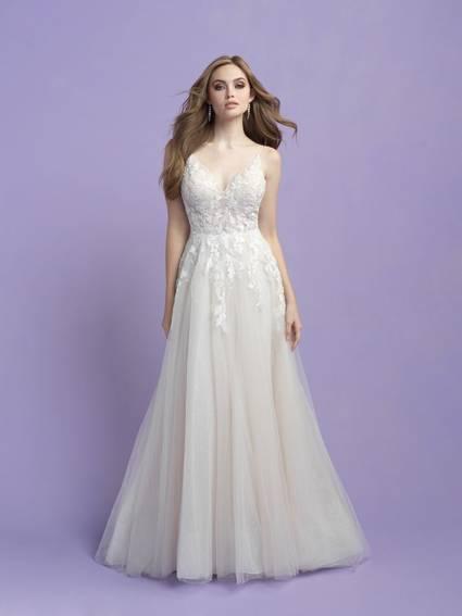 Allure Bridals Style 3410 wedding dress