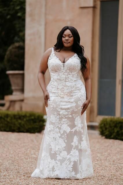 Allure Bridals Style 9865W wedding dress