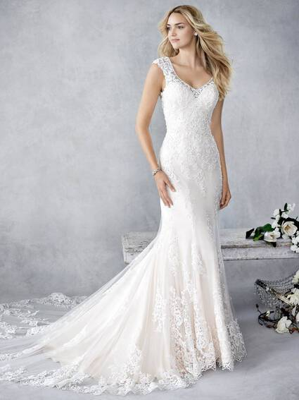 Kenneth Winston Style BE445 wedding dress