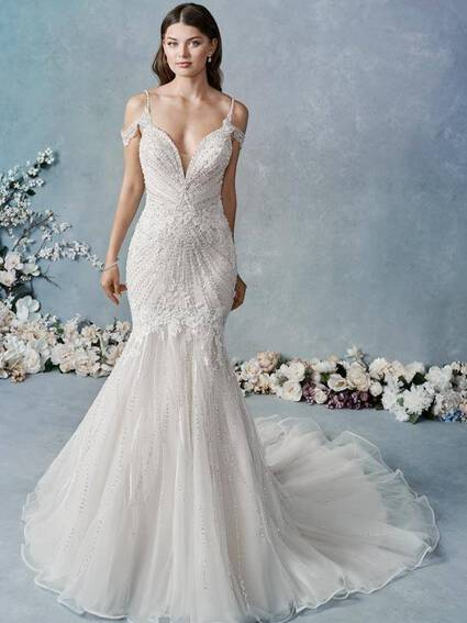 Kenneth Winston Style 1884 wedding dress
