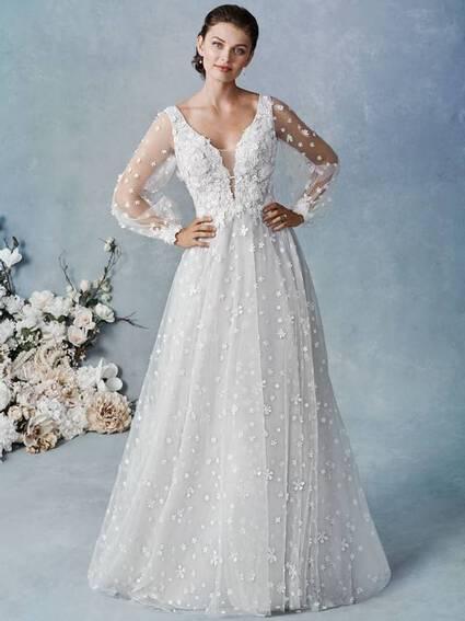 Kenneth Winston Style 1855 wedding dress