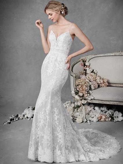 Kenneth Winston Style BE495 wedding dress