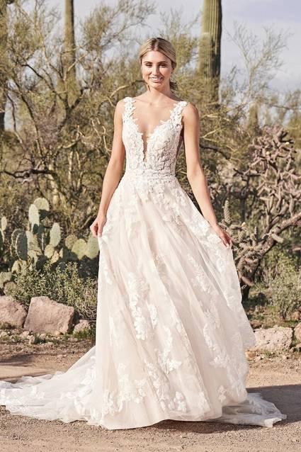Justin Alexander Style 66163 wedding dress