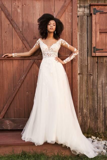 Justin Alexander 66192 wedding dress