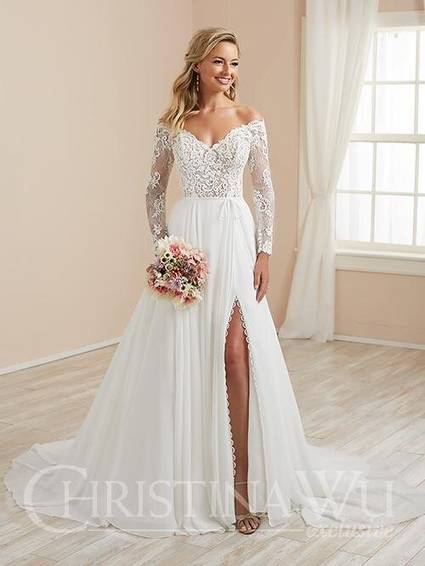 House of Wu Style 19246 wedding dress