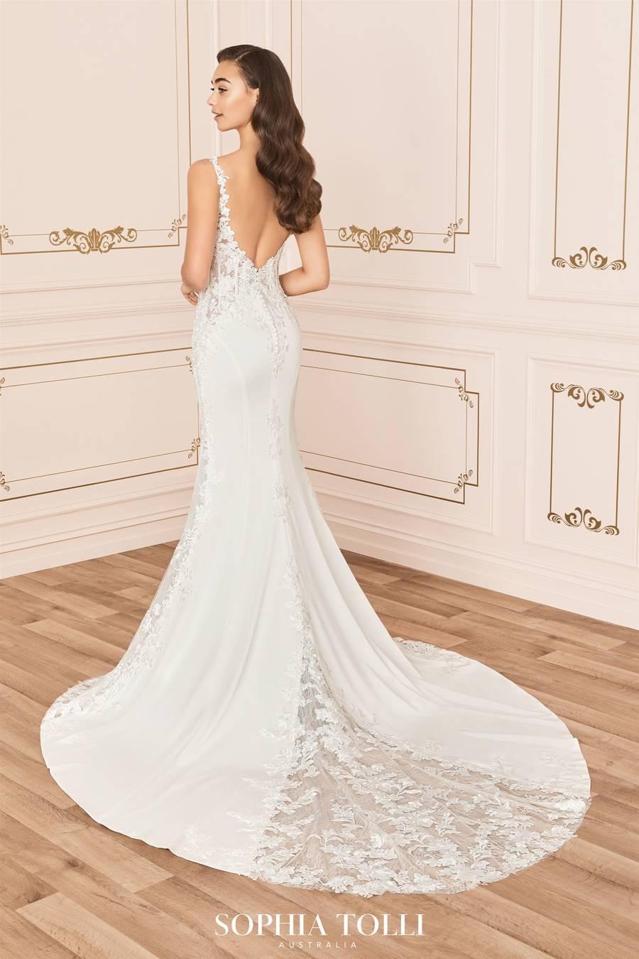 Mon Cheri Style Y12013A wedding dress