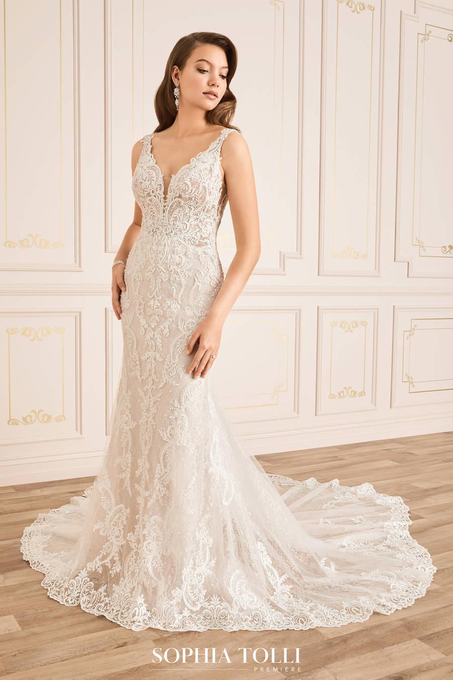 Mon Cheri Style Y12018 wedding dress