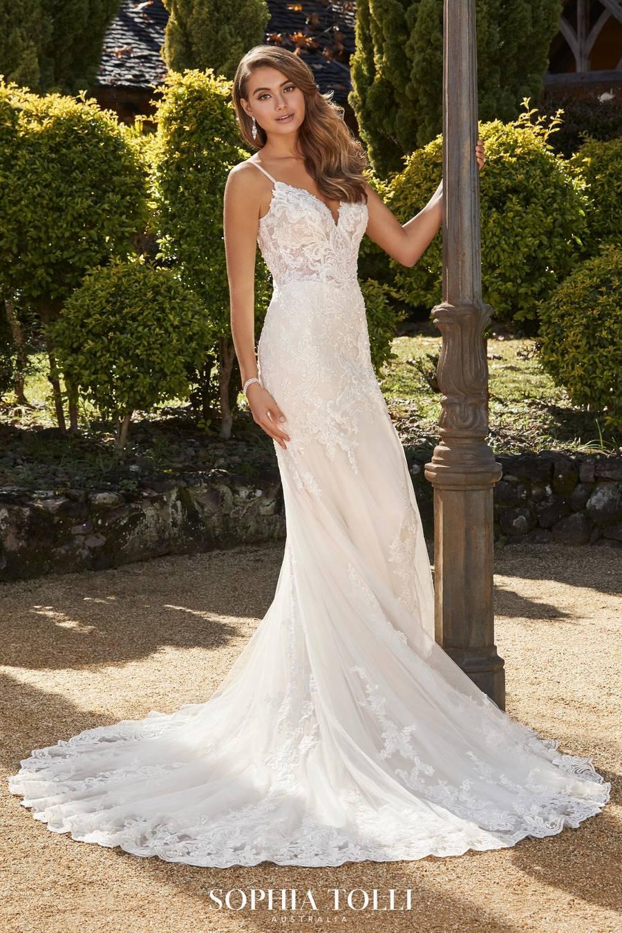 Mon Cheri Style Y12021 wedding dress