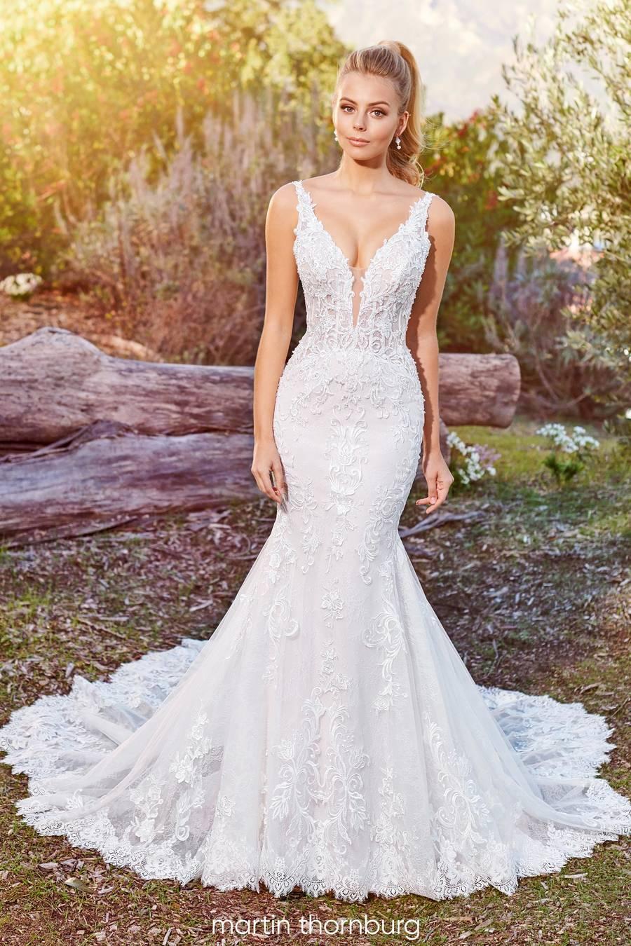 Mon Cheri Style 220278 wedding dress
