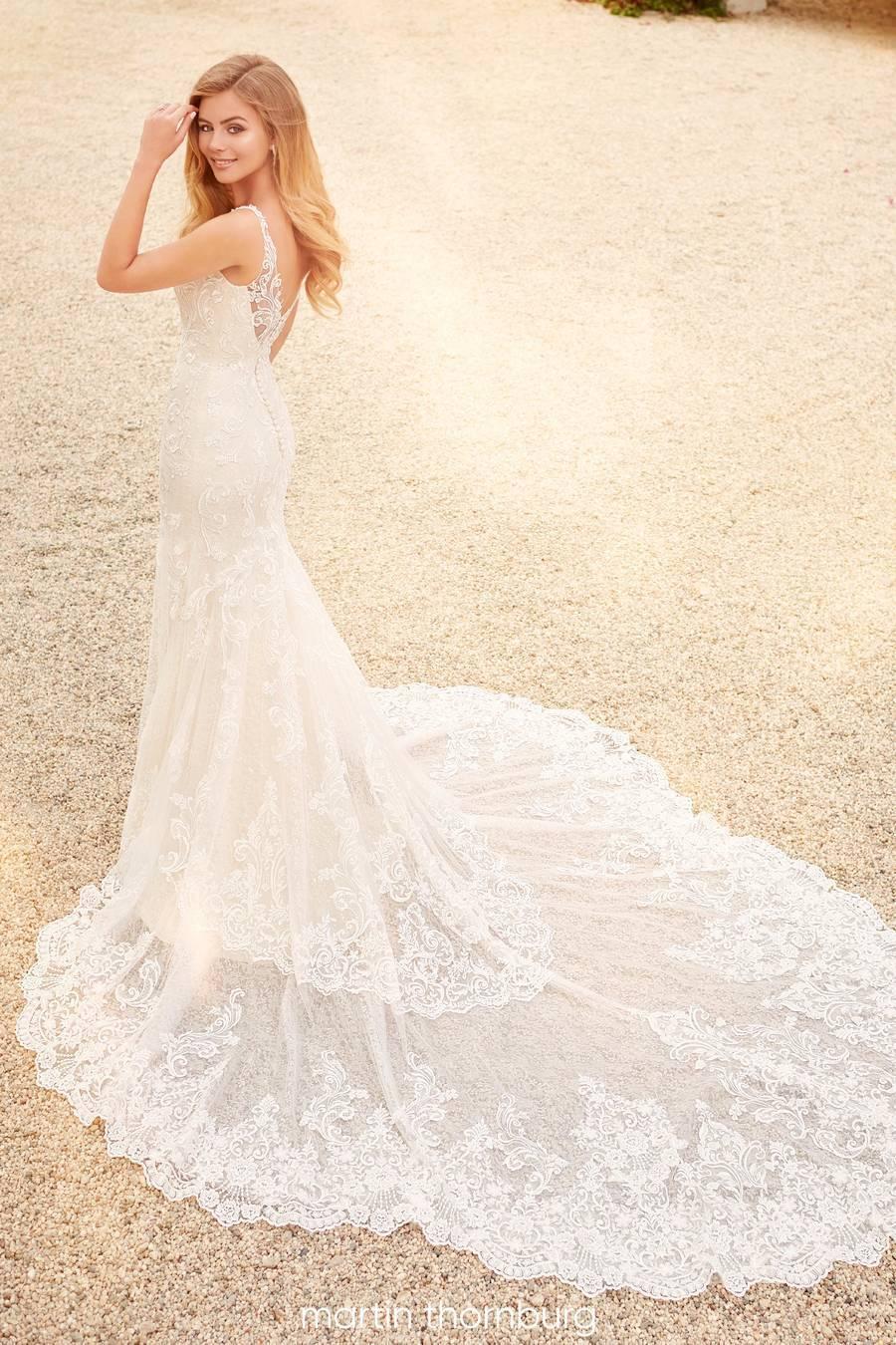 Mon Cheri Style 120254W wedding dress