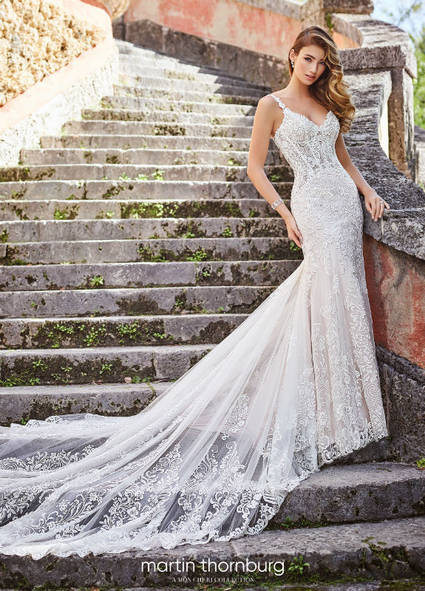 Mon Cheri Style 218203 wedding dress