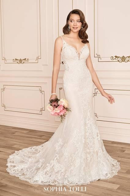 Mon Cheri Style Y12012 wedding dress