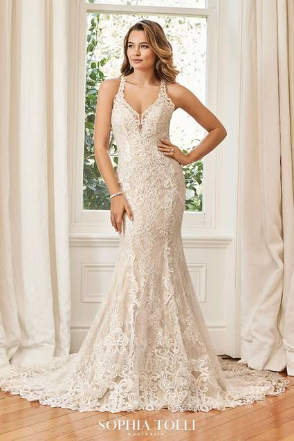 Mon Cheri Style Y11944 wedding dress