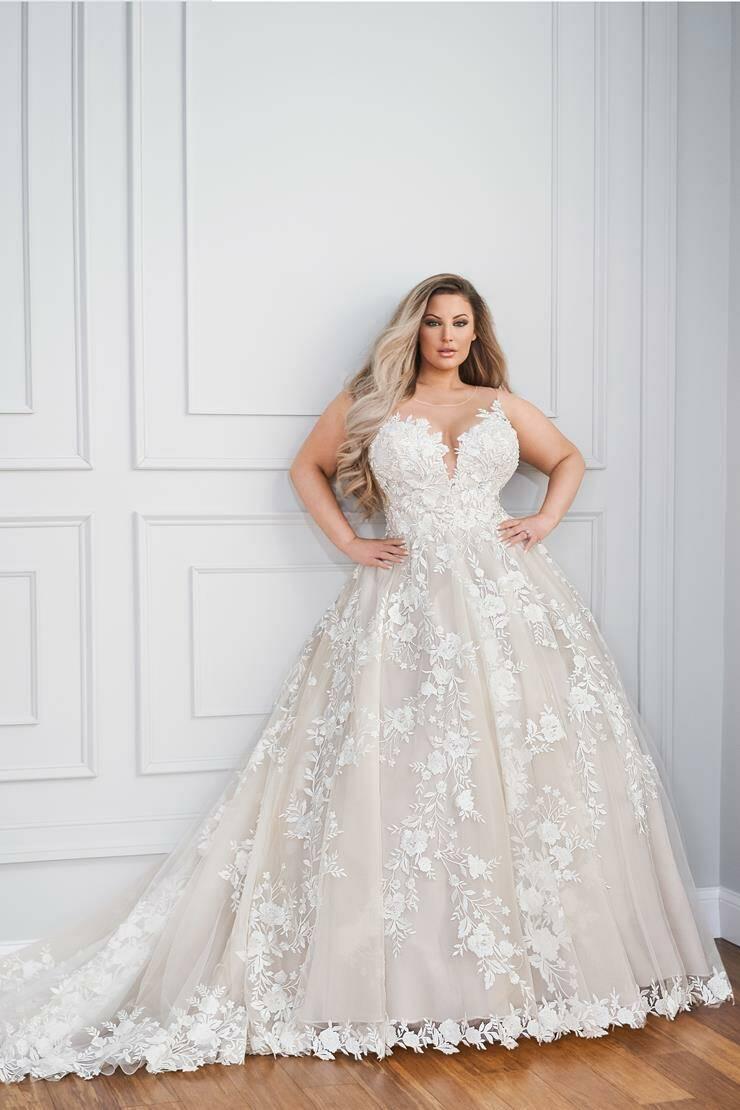 Mon Cheri Style 221205W wedding dress