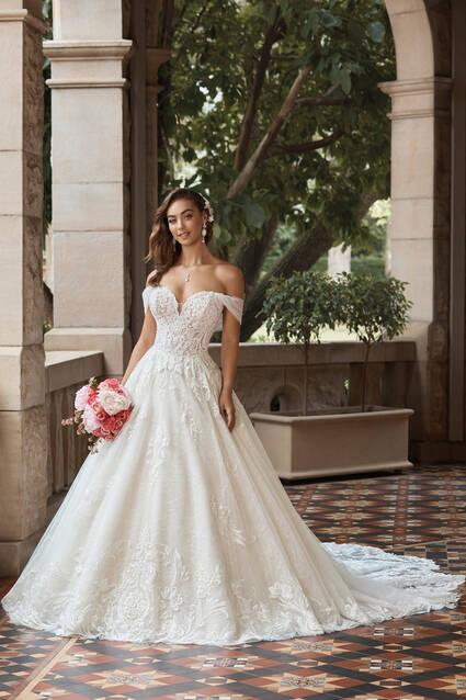 Mon Cheri Style ST2214 Rosalinda wedding dress