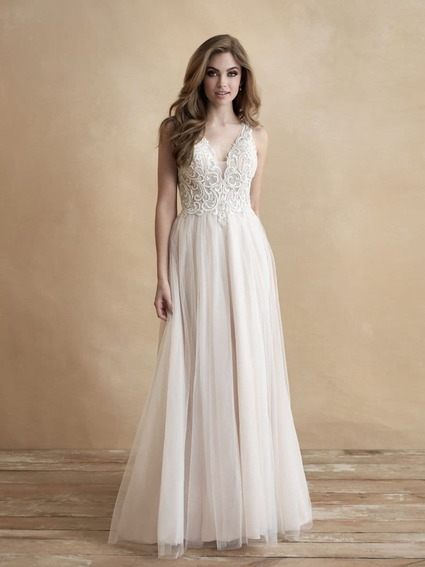 Allure Bridals Style 3314L wedding dress