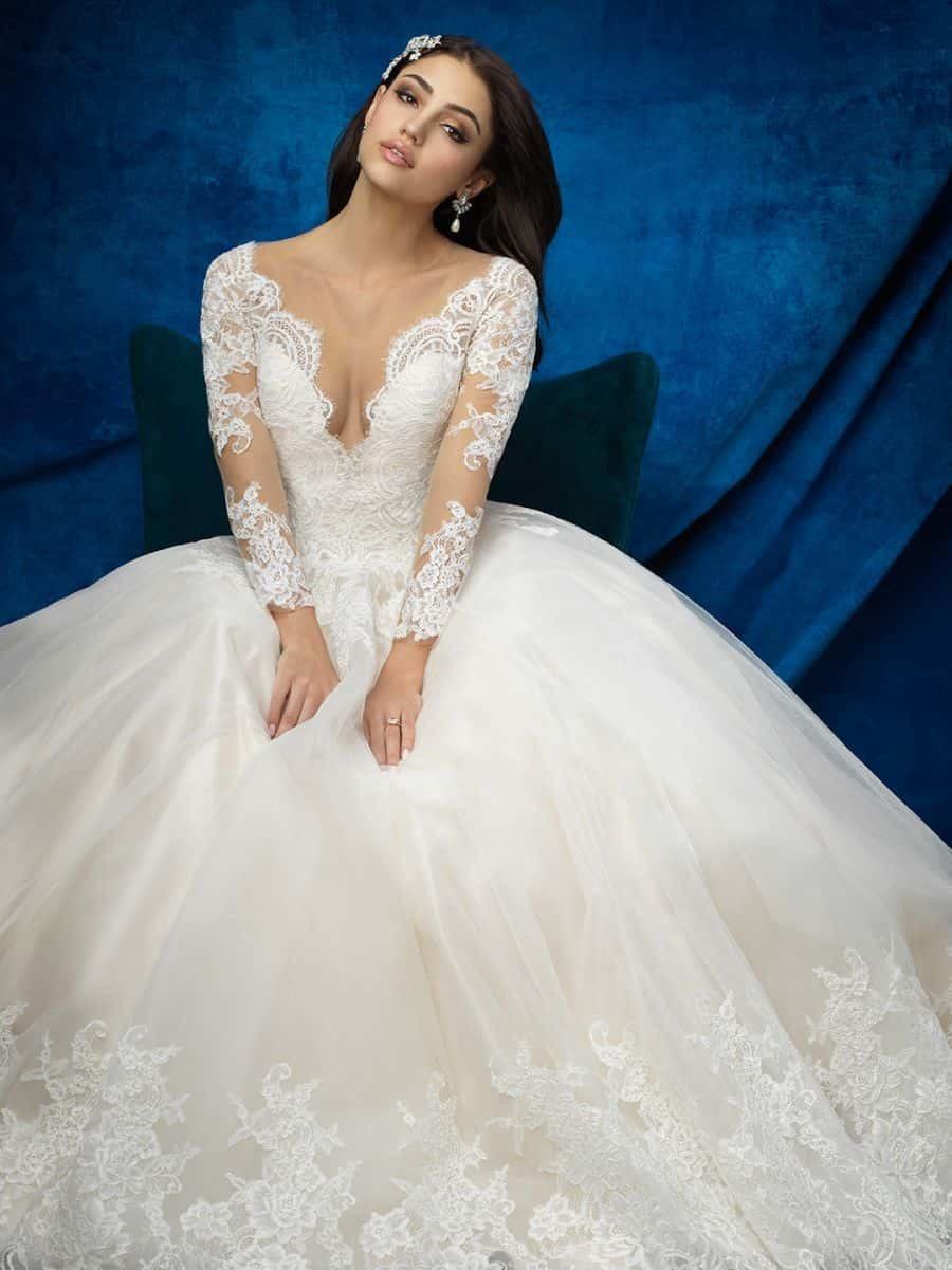 Allure Bridals Style 9366 wedding dress