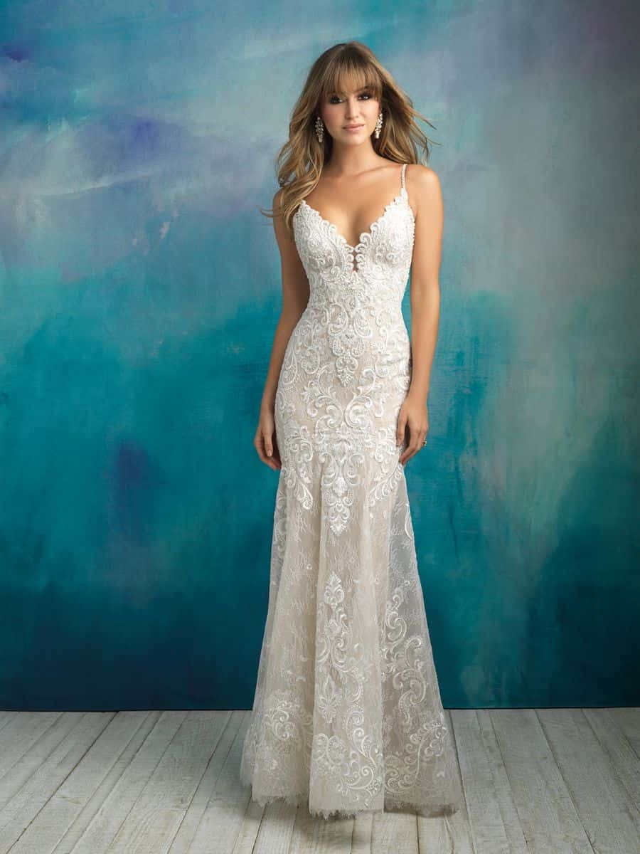 Allure Bridals Style 9501 wedding dress