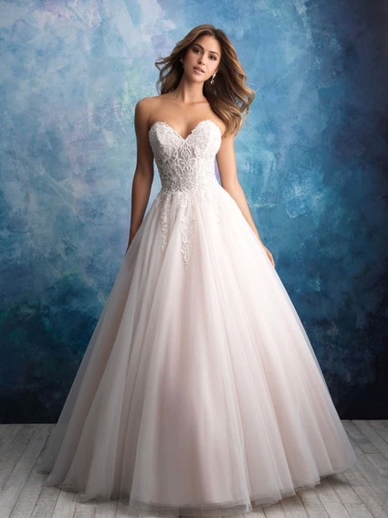 Allure Bridals Style 9565 wedding dress