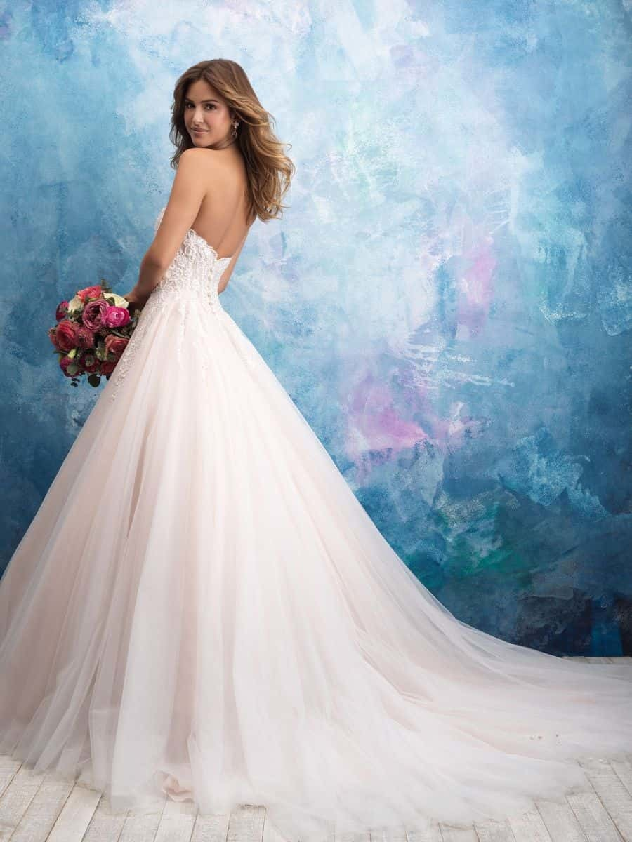 Allure Bridals Style 9565 wedding dress