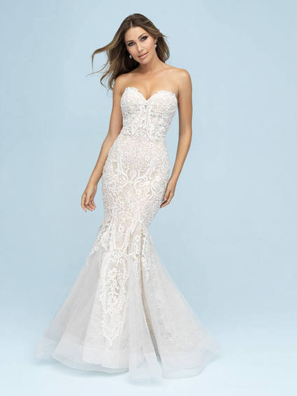 Allure Bridals Style 9601 wedding dress