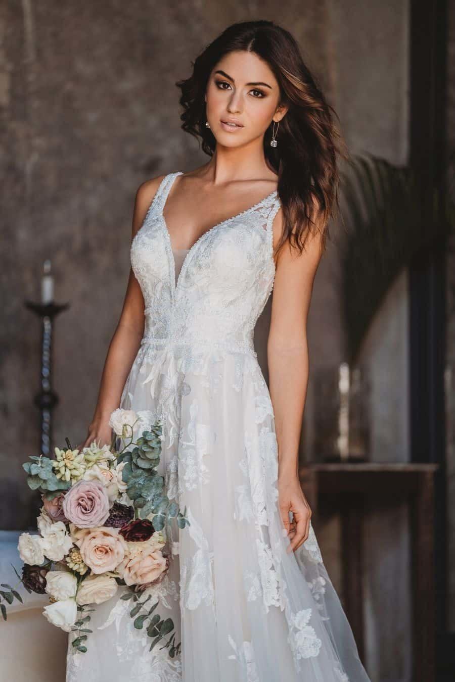 Allure Bridals Style 9657 wedding dress